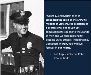 Adam 12 Martin Milner Chief Charlie Beck