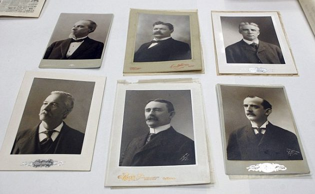 Boston Politicians 1901